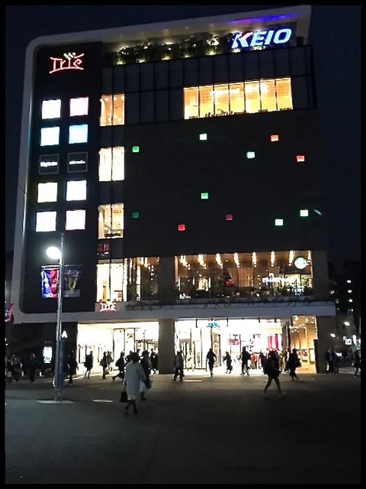 調布駅夜景