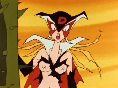 ヤッターマン1977 ドロンジョ様の胸裸ヌード乳首43