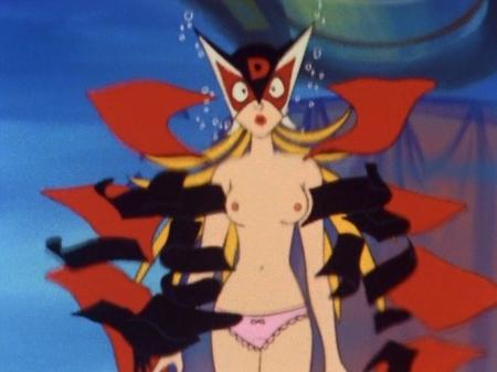 ヤッターマン1977 ドロンジョ様の胸裸ヌードパンツ乳首47