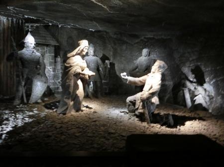 ヴィエリチカ岩塩坑 混雑4