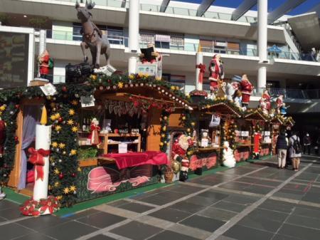 ラゾーナクリスマスマーケット2017 1