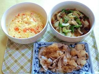 171010_4898 ポテトサラダ・白菜のうま煮・豚しゃぶのおろしポン酢のせVGA
