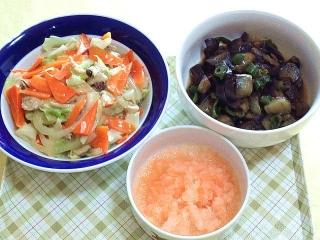 171027_4909 八宝菜・茄子の味噌炒め・もみじおろしVGA