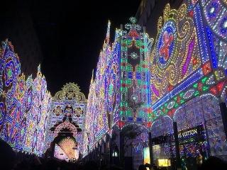 171217_1418「神戸ルミナリエ」最終日・フロントーネに続くガレリア_VGA