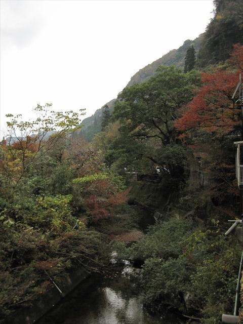 耶馬渓の紅葉-2