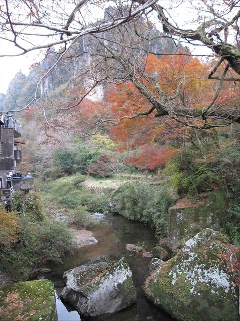 耶馬渓の紅葉-3