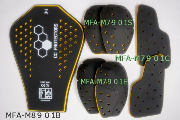 【マックスフリッツ】CE規格/メモリーフォームプロテクター