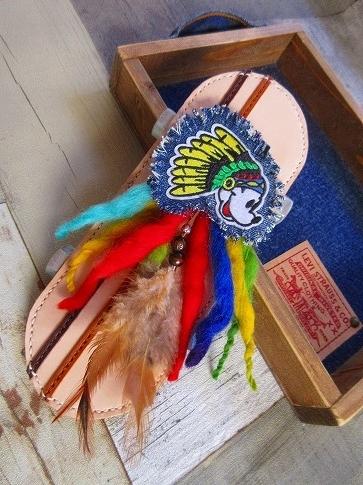 インディアンミッキーバッグチャーム