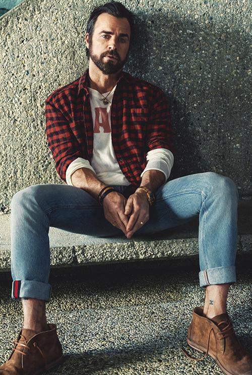 ジャスティン・セロー(Justin Theroux):サンローラン(Saint Laurent)/グッチ(Gucci)/マルセル(Marsell)