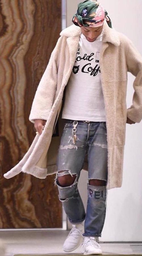 ファレル・ウィリアムス(Pharrell Williams):セリーヌ(Celine)/シャネル(Chanel)/ヒューマンメイド(Human Made)/アディダス(Adidas)