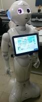 ロボットの受付係り