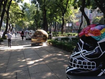 レフォルマ通り(骸骨)