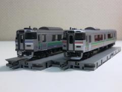 KATO・キハ201系と731系