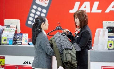 JAL ABC|冬のコート預かりサービス