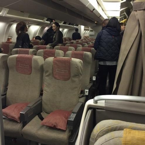 アシアナ航空エコノミークラス