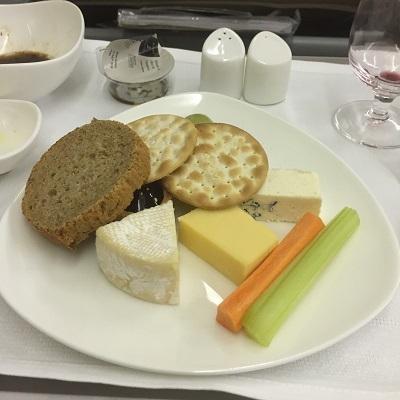 アシアナ航空ビジネスクラス機内食③