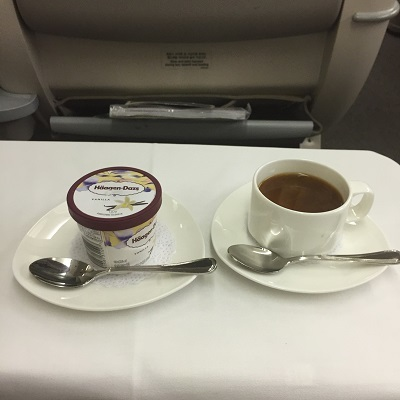 アシアナ航空ビジネスクラス機内食④