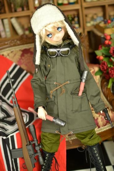 ターニャ少佐-戦闘服っぽい-1