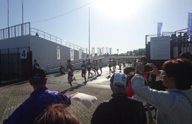フルマラソンスタート