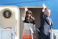 トランプ大統領訪日