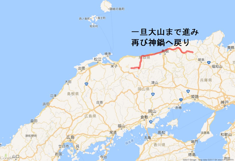 201710 御神事 移動行程