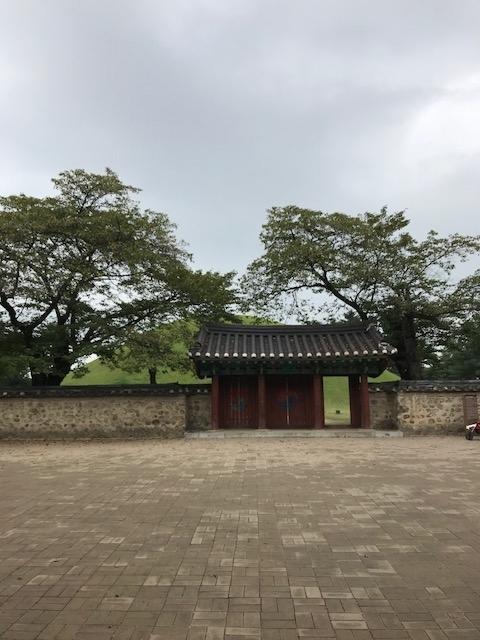 10月11日 御神事 慶州 古墳公園1