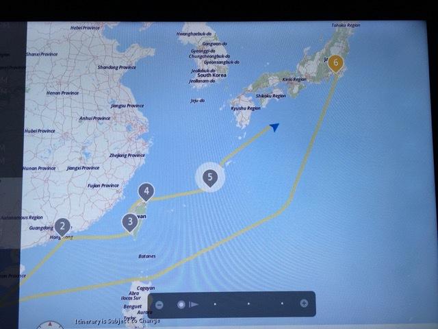 11月9日 南海トラフ付近を移動中