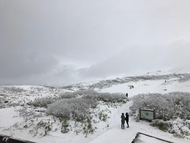旭岳の様子4