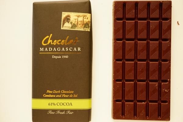 【Chocolat MADAGASCAR】Combava and Fleur de Sel