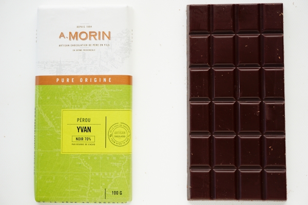 【CHOCOLATERIE A.MORIN】YVAN 70%