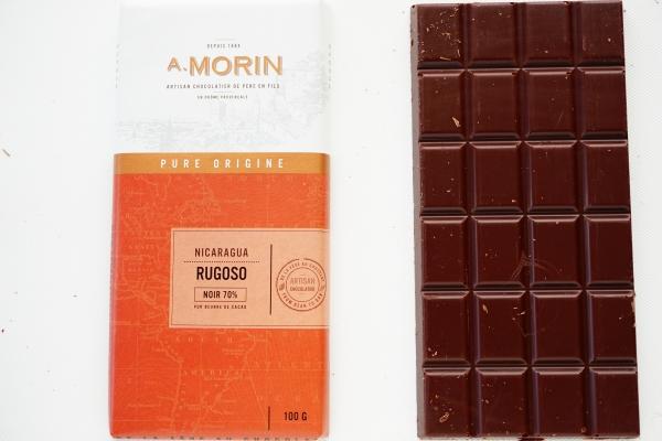 【CHOCOLATERIE A.MORIN】RUGOSO 70%