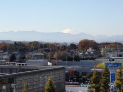 20171125三鷹富士山1