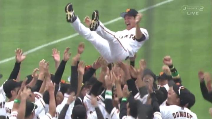 さらば…そして有難う!2代目稲妻戦士、巨人の松本哲也が引退!!