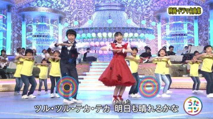 芦田愛菜ちゃん達がマルモリ中学生版で比較、バックダンサーと平均(中学生版)