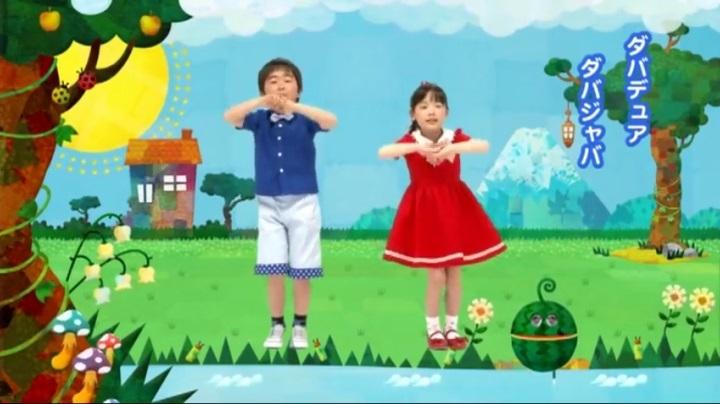 芦田愛菜ちゃん達がマルモリ中学生版で比較、ダバデュア ダバジャバ(小学生版)