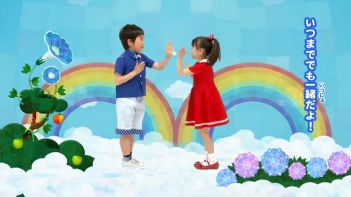 芦田愛菜ちゃん達がマルモリ中学生版で比較、何時迄でも一緒だよ(小学生版)