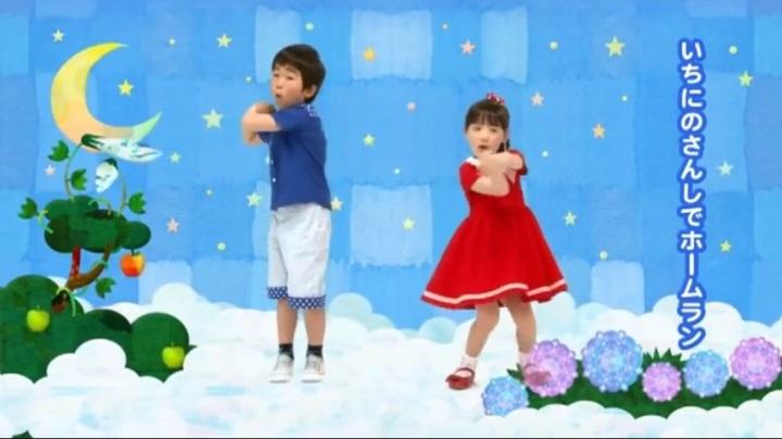 芦田愛菜ちゃん達がマルモリ中学生版で比較、1、2の3、4ででホームラン (小学生版)