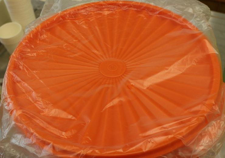 味噌を入れる容器の蓋 29 10 25