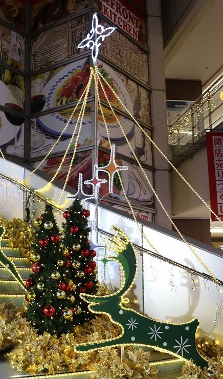 川崎の駅前クリスマス 29 11 25