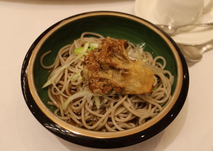 薙刀の懇親会料理 5 29 11 25