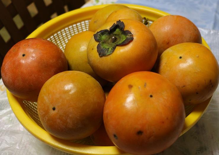 柿も戴きました 29 10 11