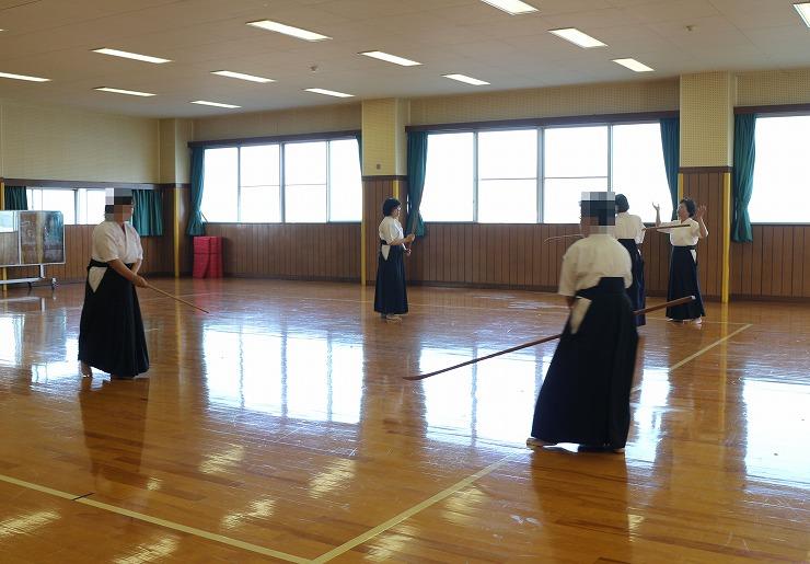 薙刀 特別練習 29 10 27