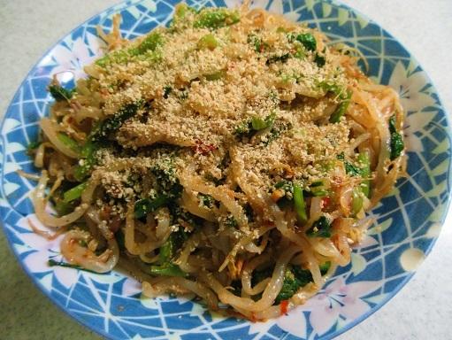 171009-231小松菜ともやしのナムル(S)