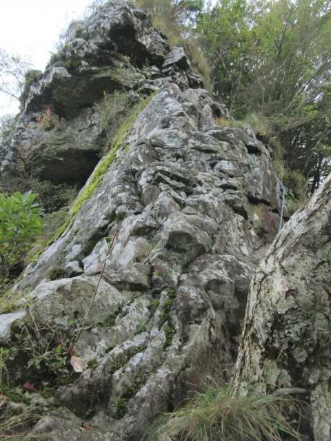 IMG2345JPG岩稜を登る