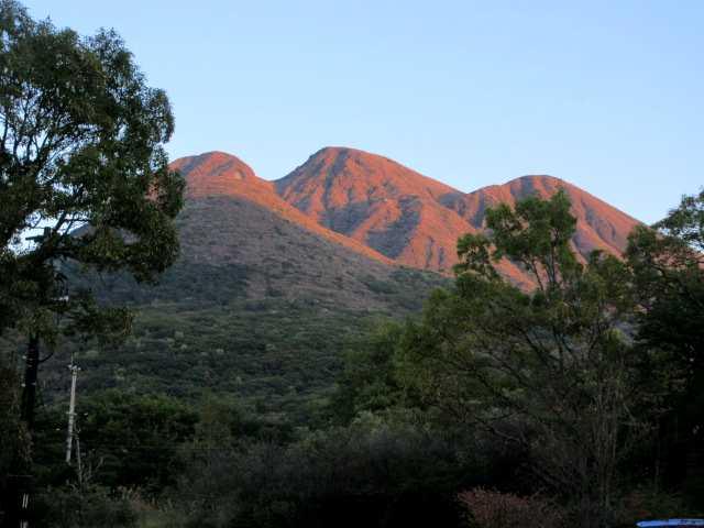 IMG2662JPG夕日の三俣山