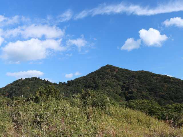 IMG5764JPG砲台山より妙見山足立山