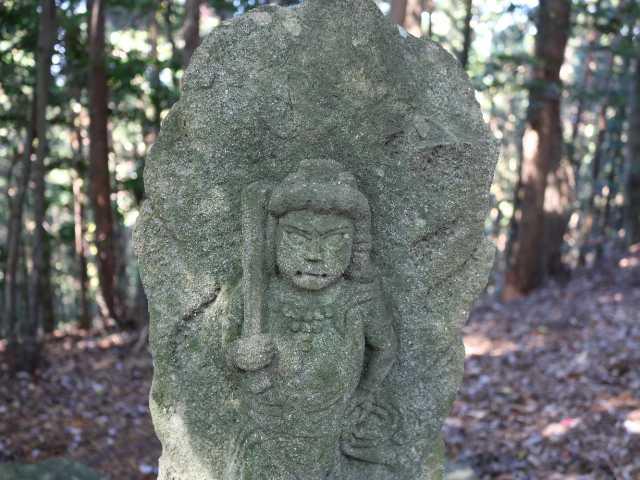 IMG6111JPG山頂の石仏不動明王