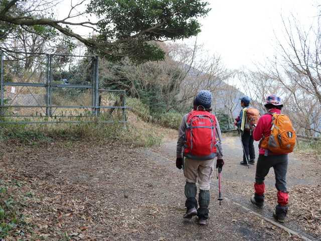 IMG6540JPG林道支線歩き