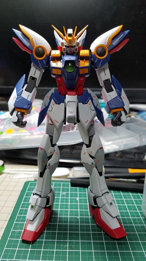MG ウイングガンダム Ver.Ka 完成