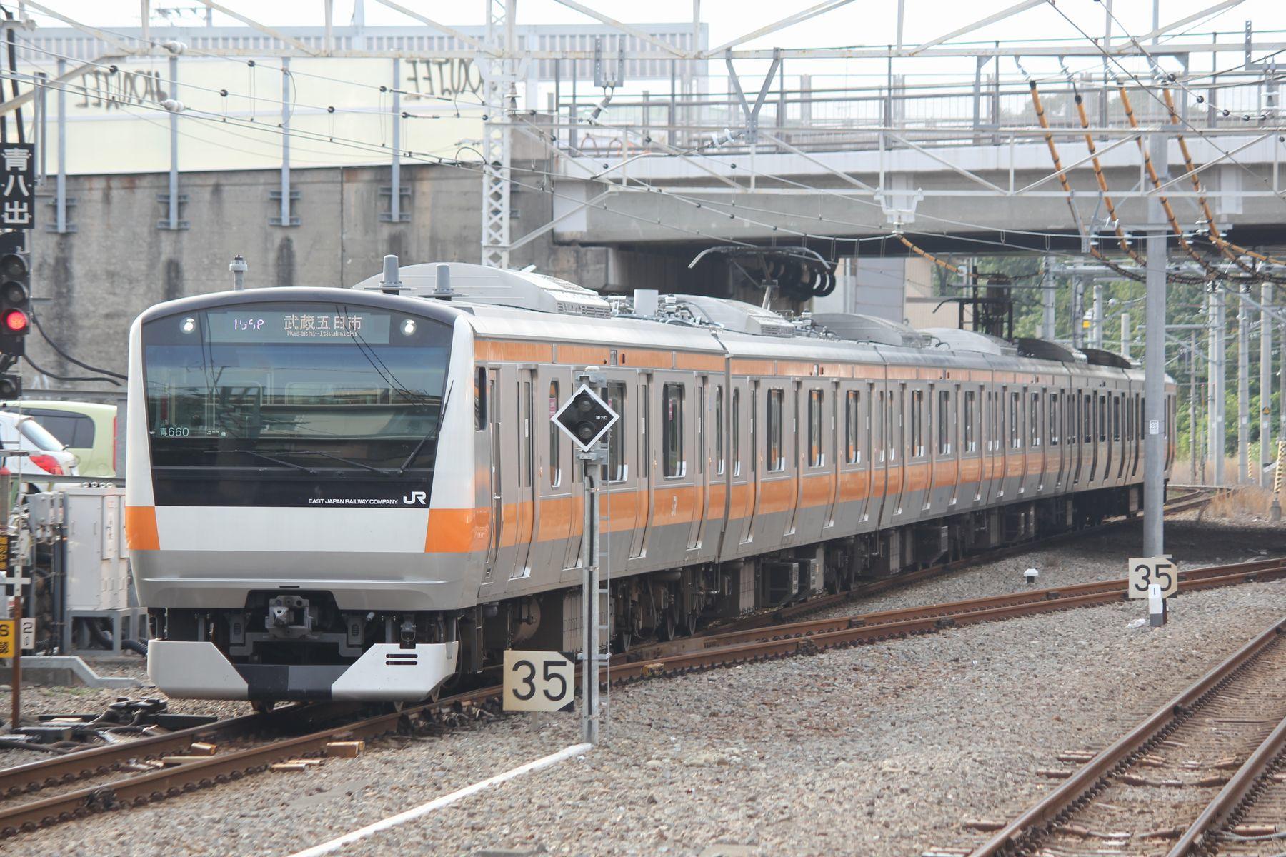 JR東日本青梅線・五日市線・八高...